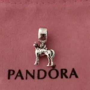 Pandora Rapunzel's Maximus Horse Charm